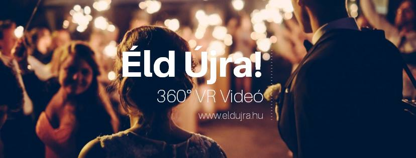 360°-os esküvői videó - Éld Újra!