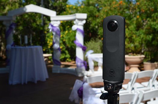 360°-os esküvői videó