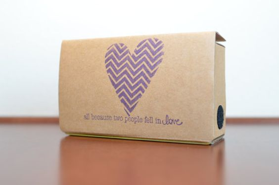 cardboard esküvői csomag