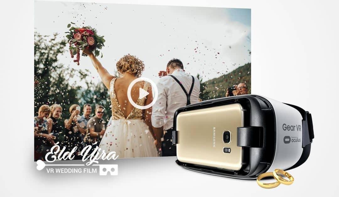 Éld át újra az esküvőd 360°-os filmmel